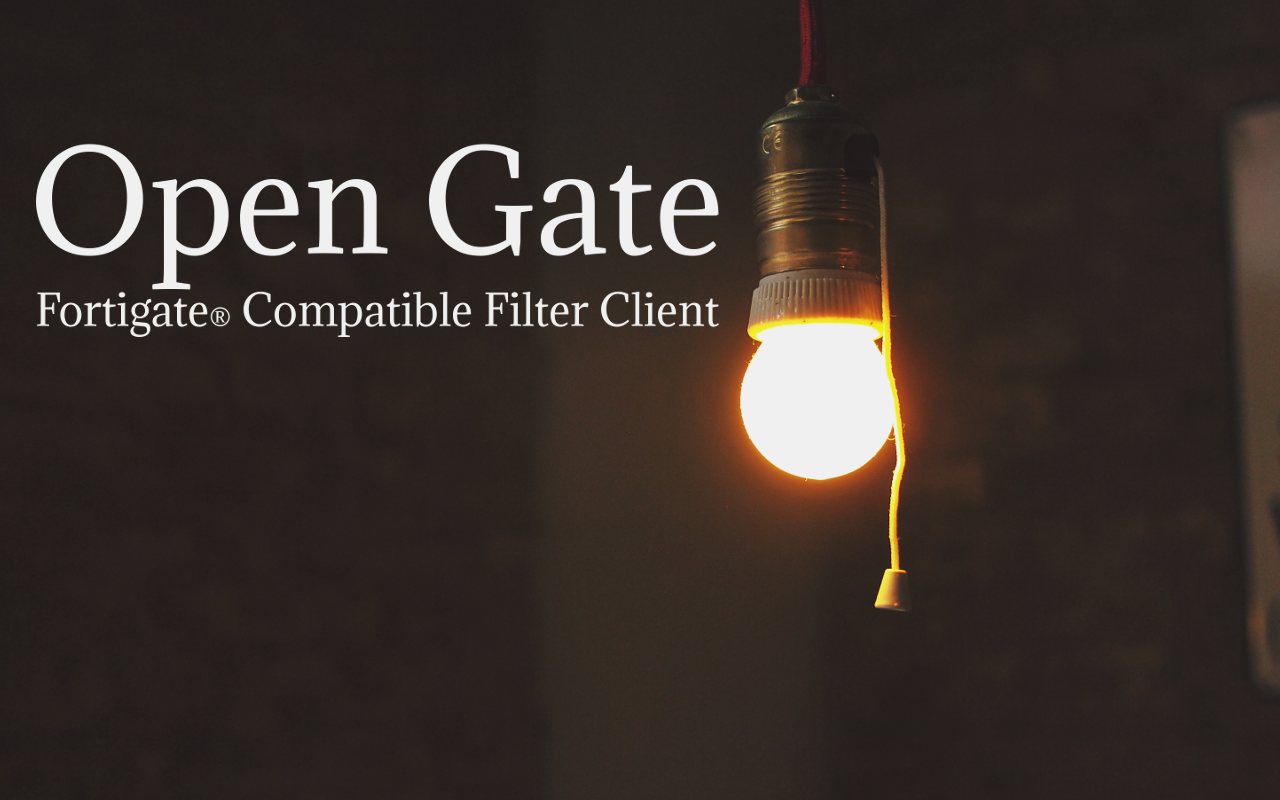 Open Gate Url Filter Client